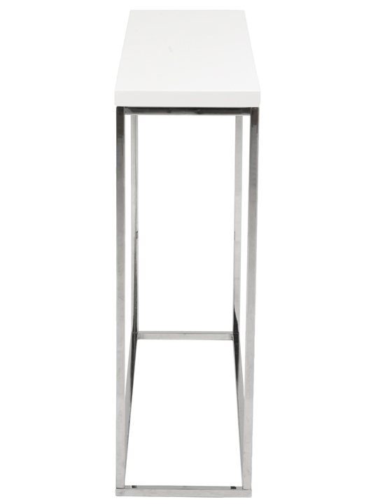 Float Console Table White 3