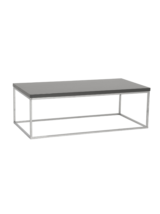 Float Rectangular Coffee Table Gray 2