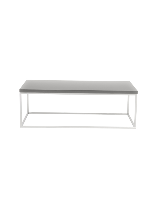 Float Rectangular Coffee Table Gray