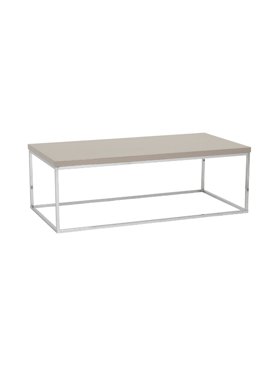 Float Rectangular Coffee Table Tan 2