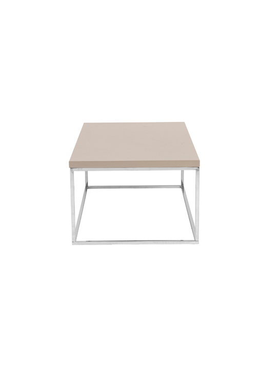 Float Rectangular Coffee Table Tan 3
