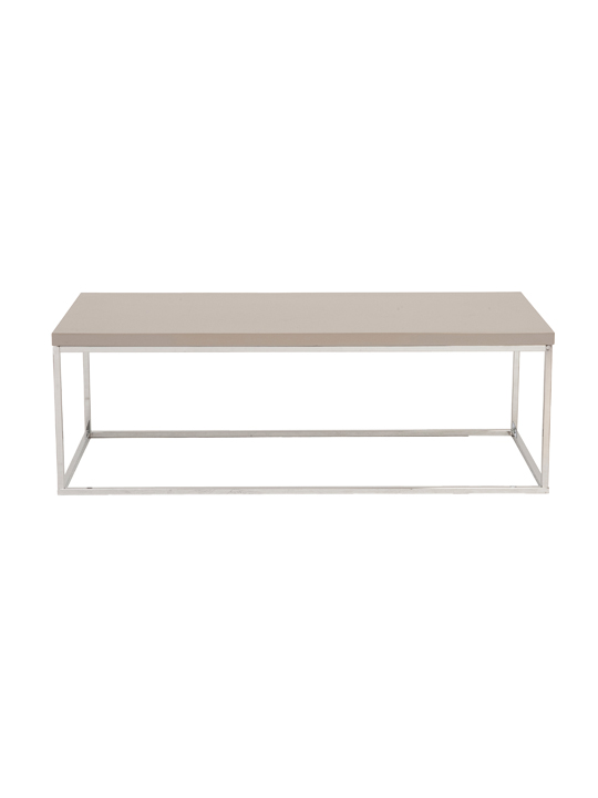 Float Rectangular Coffee Table Tan
