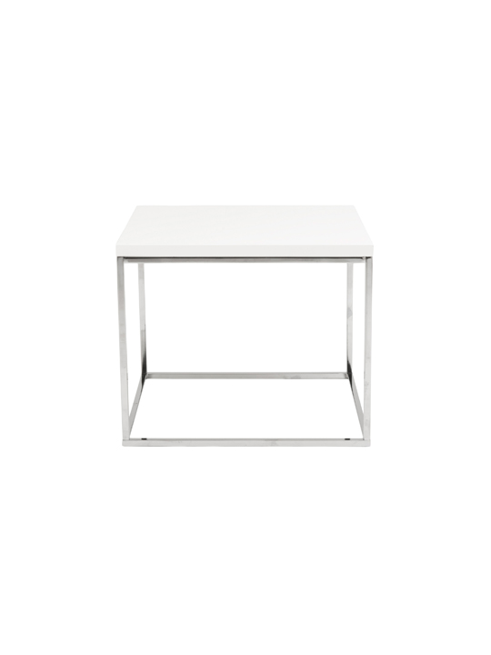 Float Side Table White 2