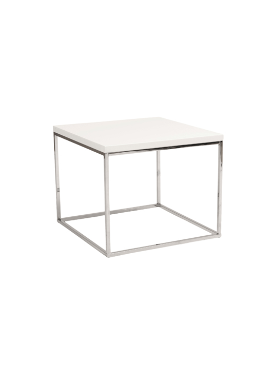 Float Side Table White 3