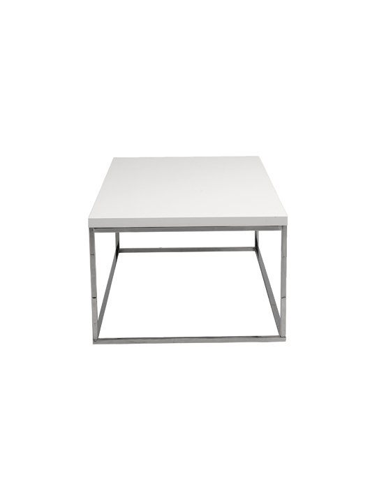 Float Side Table White