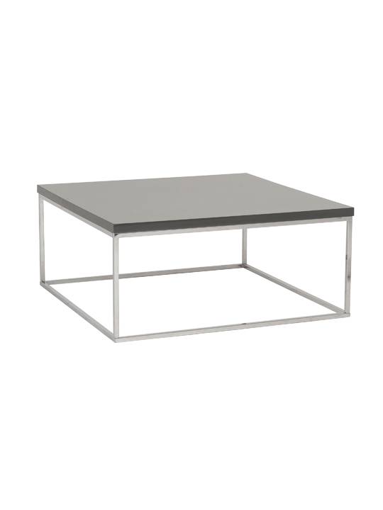Float Square Coffee Table Gray