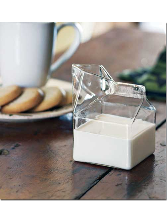 Glass Milk Carton 7