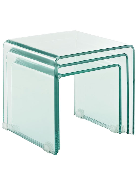 Glass Nesting Tables 3
