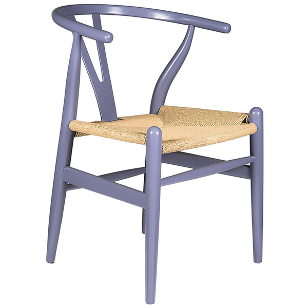 Gray Hemp Y Wishbone Chair 6