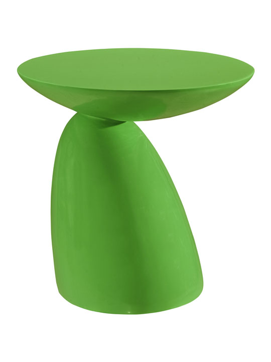 Green Pebble Side Table 2