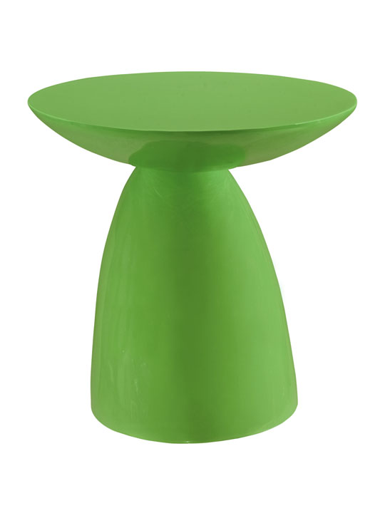 Green Pebble Side Table 3
