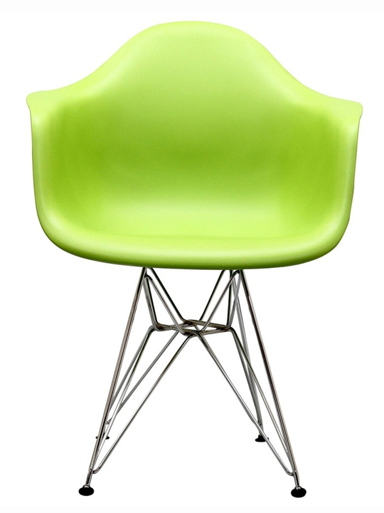 Green Wire Base Chair