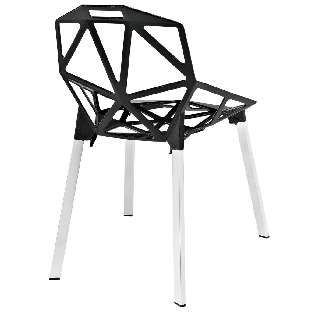 Grid Chair Black 3