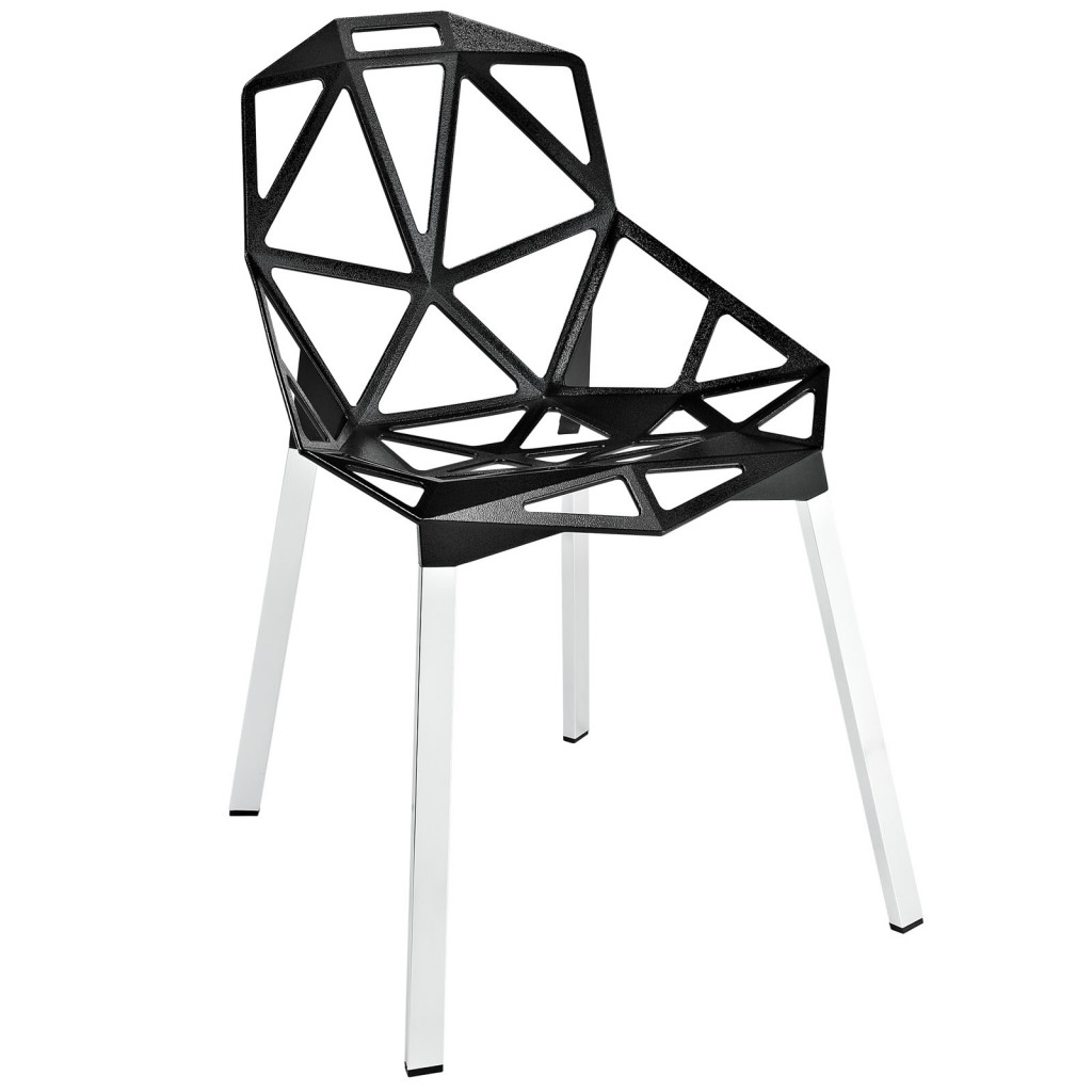 Grid Chair Black