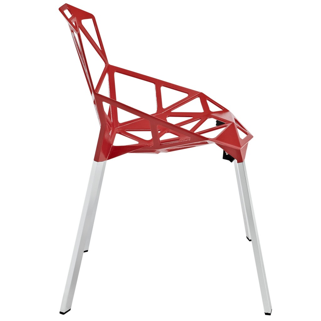 Grid Chair Red 2