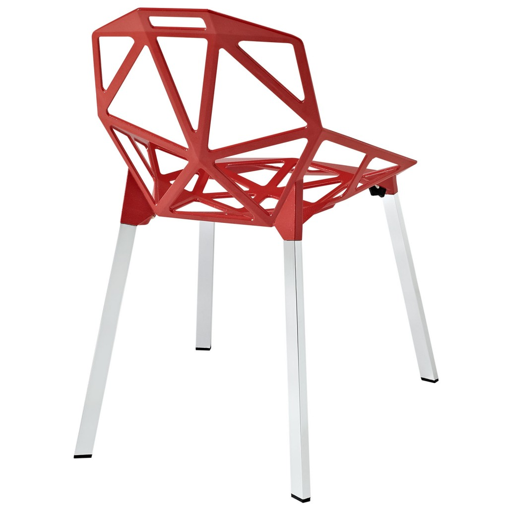 Grid Chair Red 3
