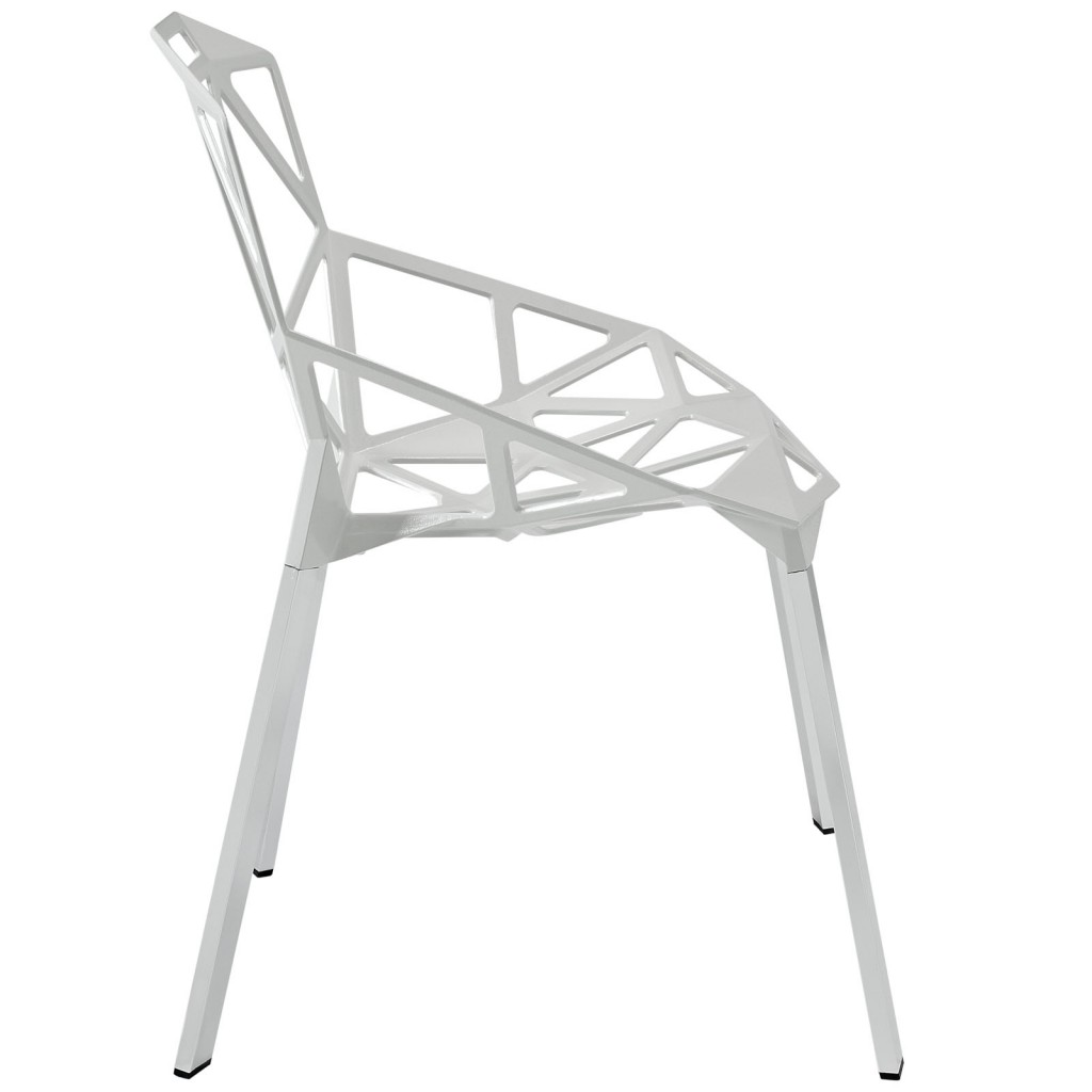 Grid Chair White 2