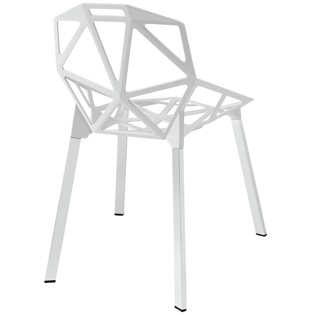 Grid Chair White 3