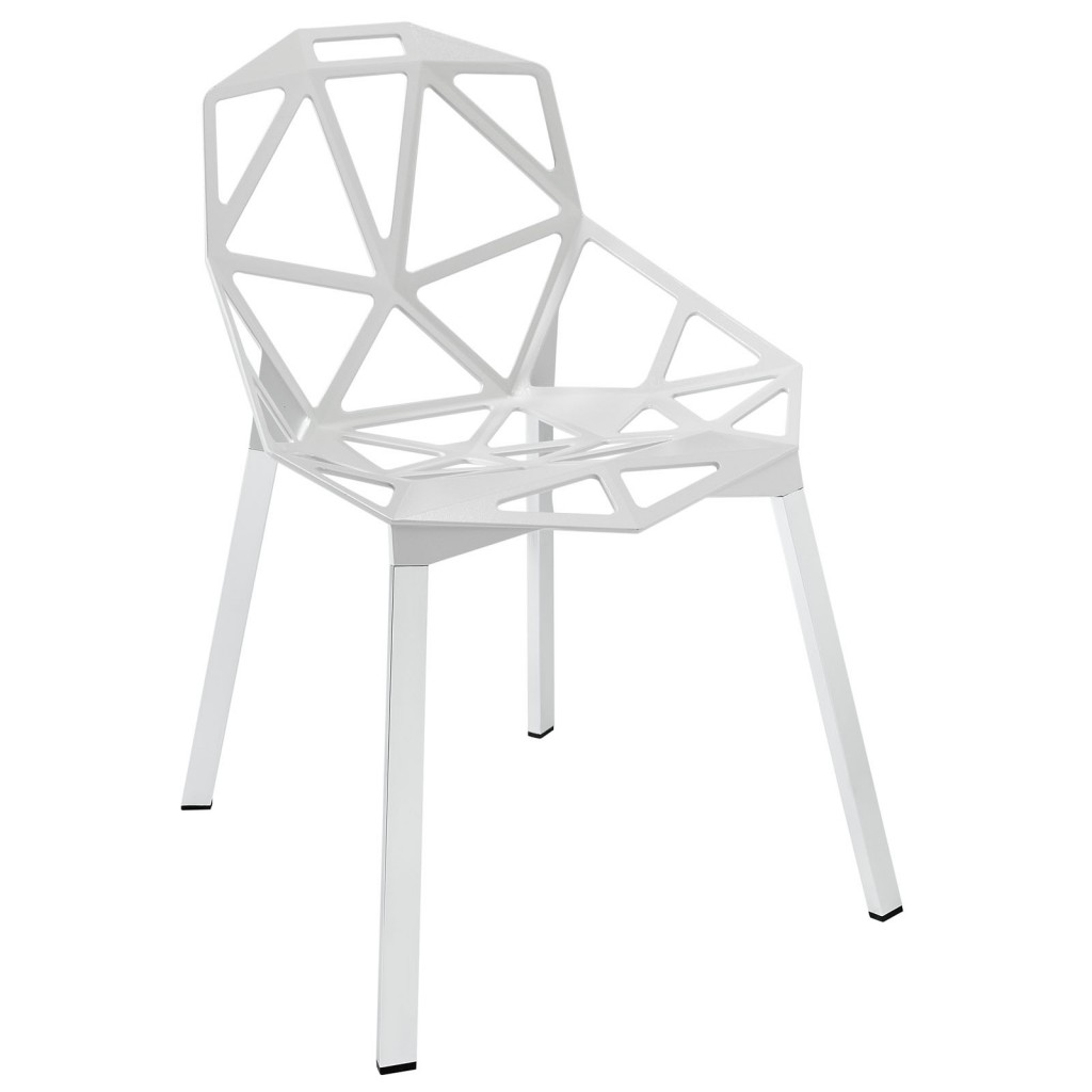 Grid Chair White