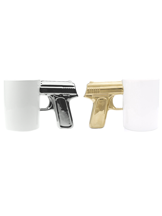 Gun Mug Brickell Collection