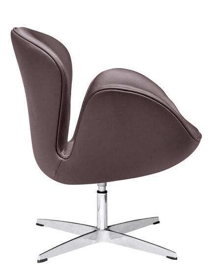 Hug Leather Chair Brown 2