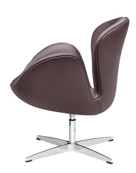 Hug Leather Chair Brown 3