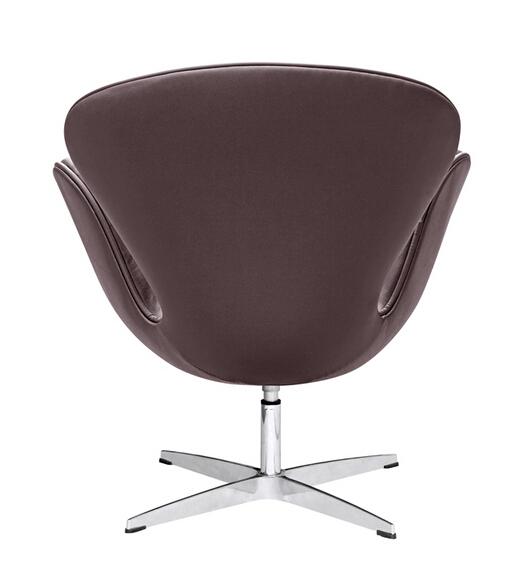 Hug Leather Chair Brown