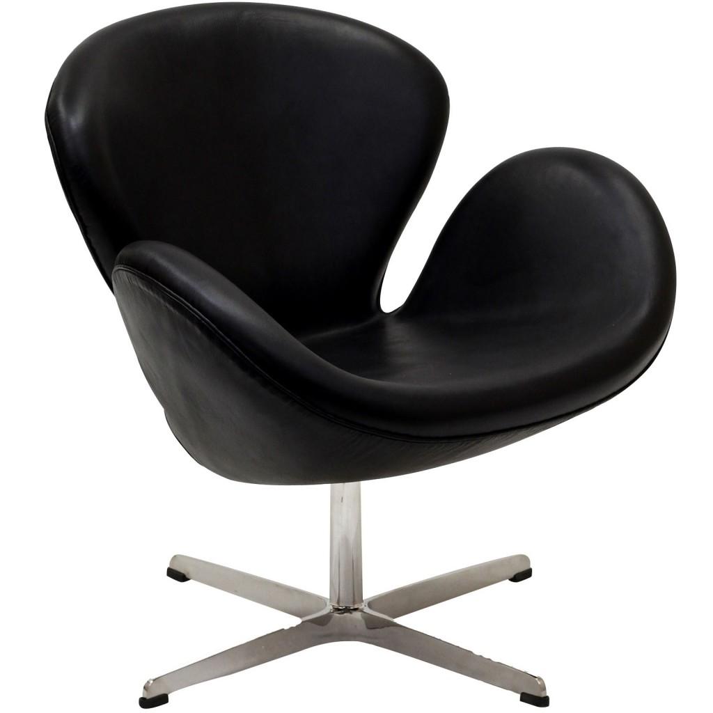 Hug Leather Chair Light Black 10