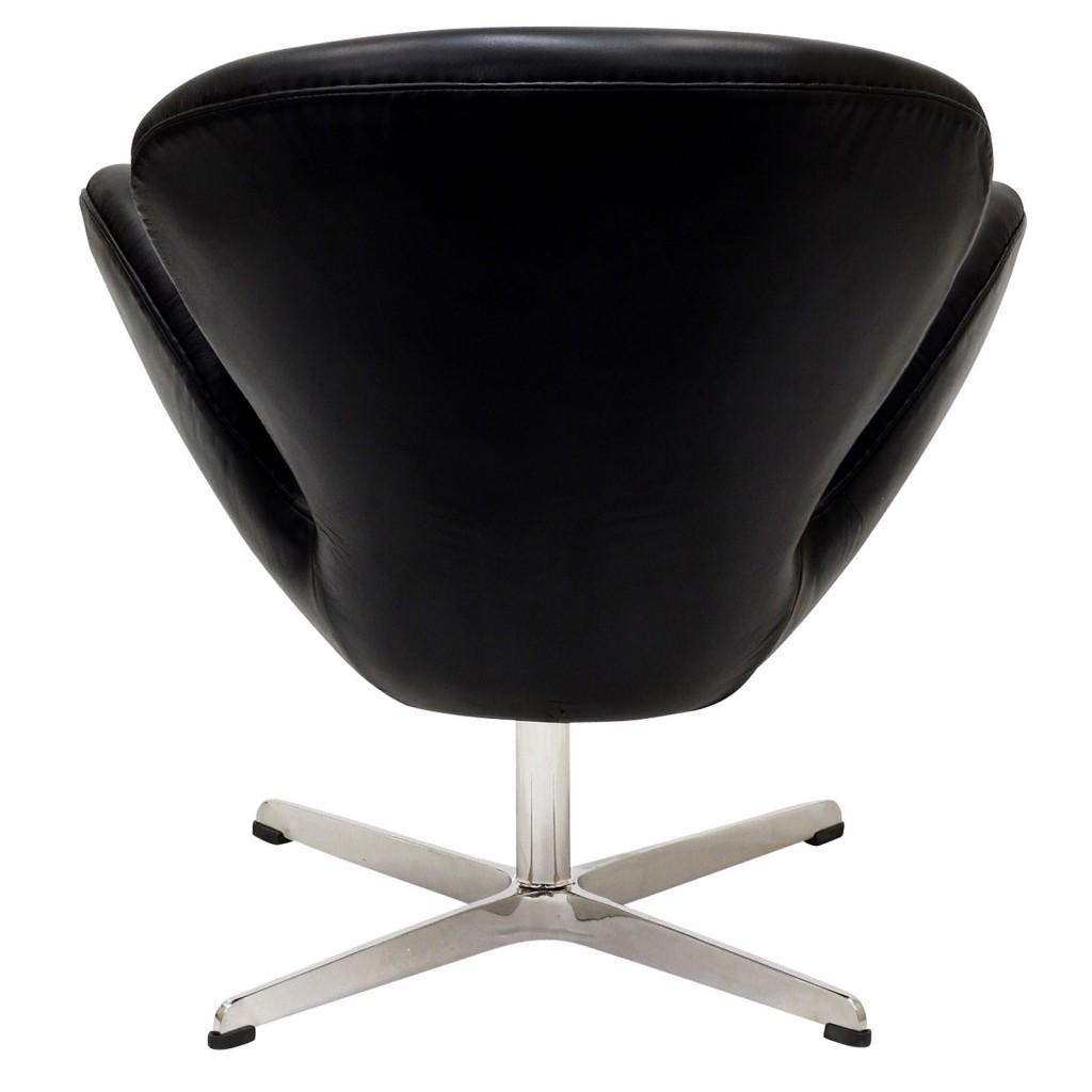 Hug Leather Chair Light Black 7