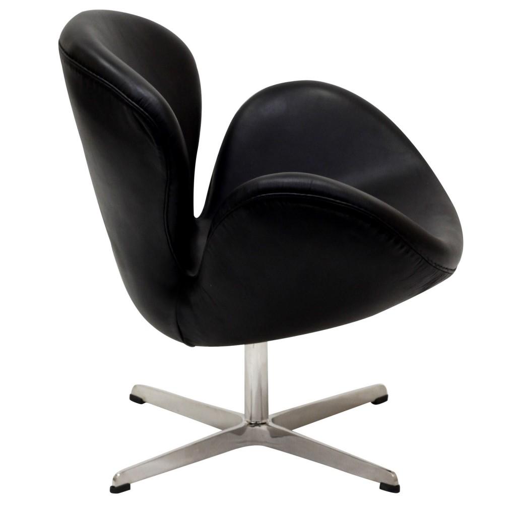 Hug Leather Chair Light Black 8
