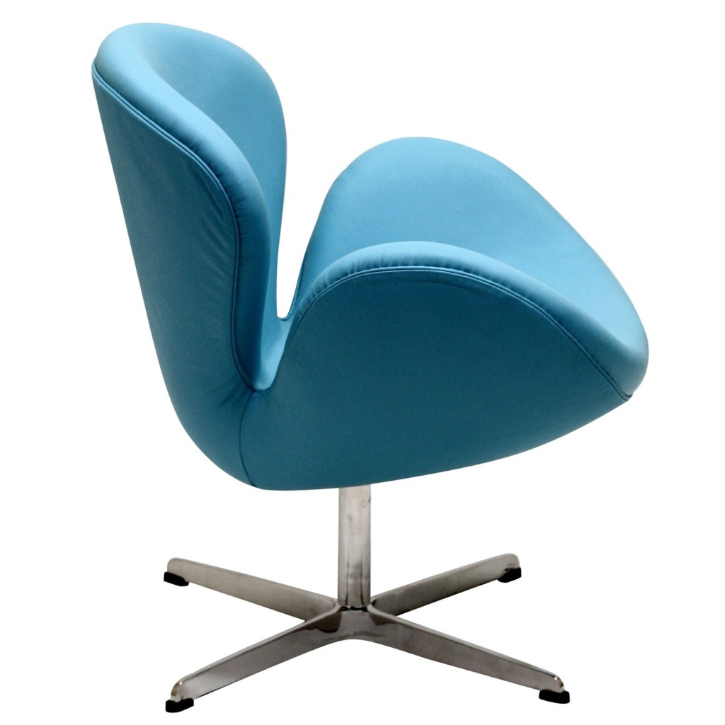Hug Leather Chair Light Blue 2