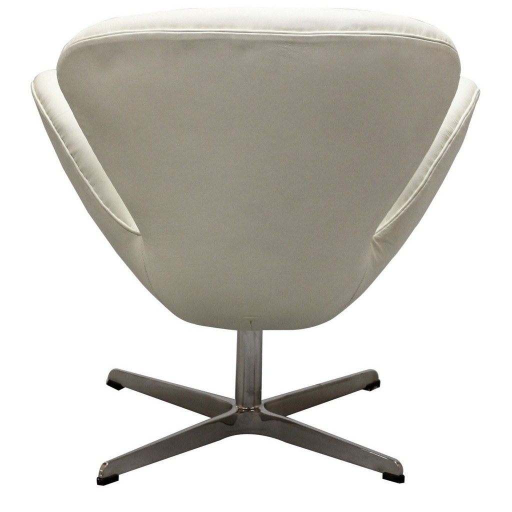 Hug Leather Chair Light White 2