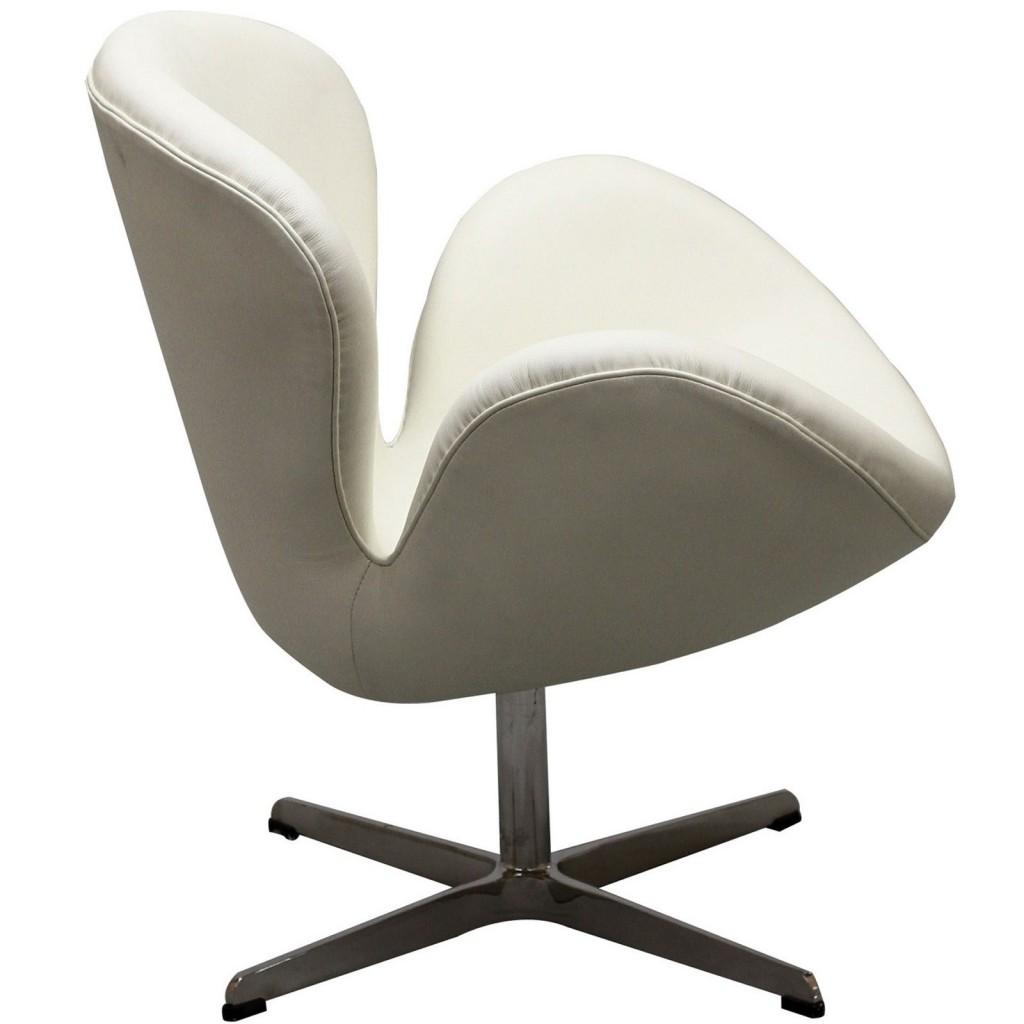 Hug Leather Chair Light White 3