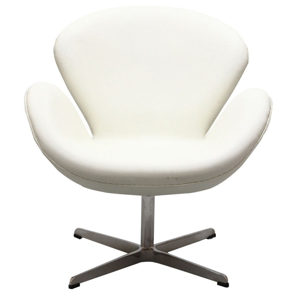 Hug Leather Chair Light White 4