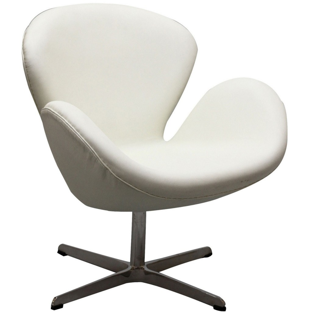 Hug Leather Chair Light White 5