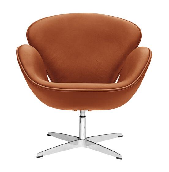 Hug Leather Chair Tan 6