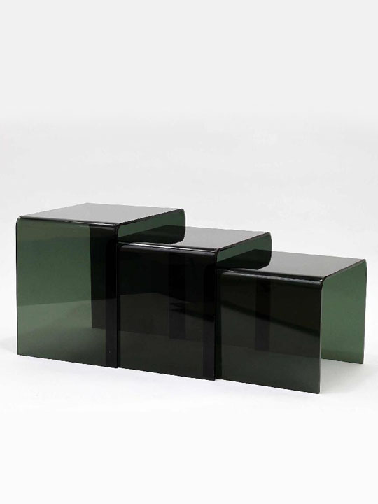 Ice Accent Tables Black