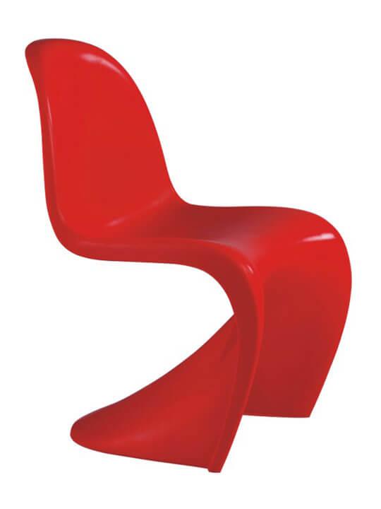 Kids blaze chair red