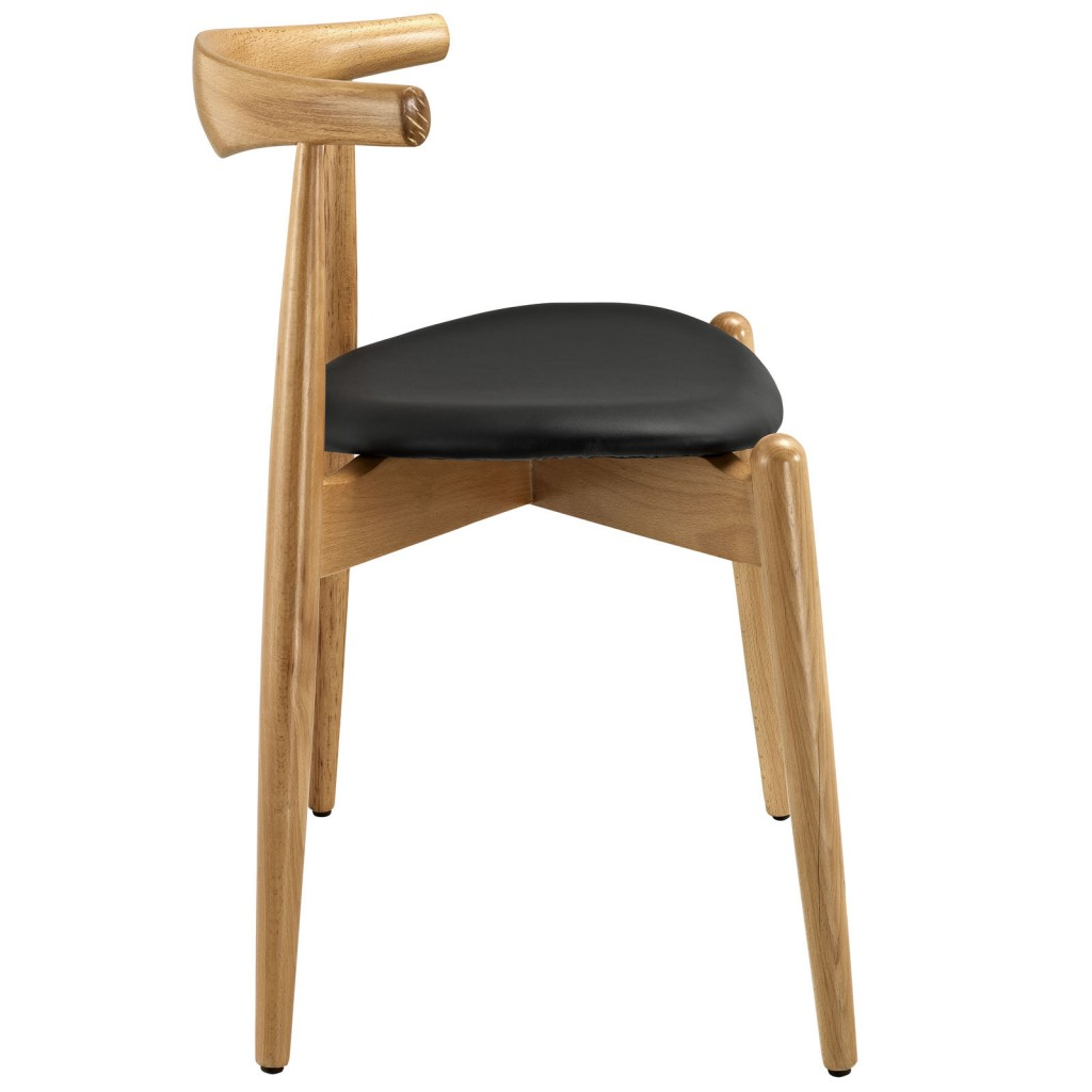 Marfa Chair Natural Wood Black 2