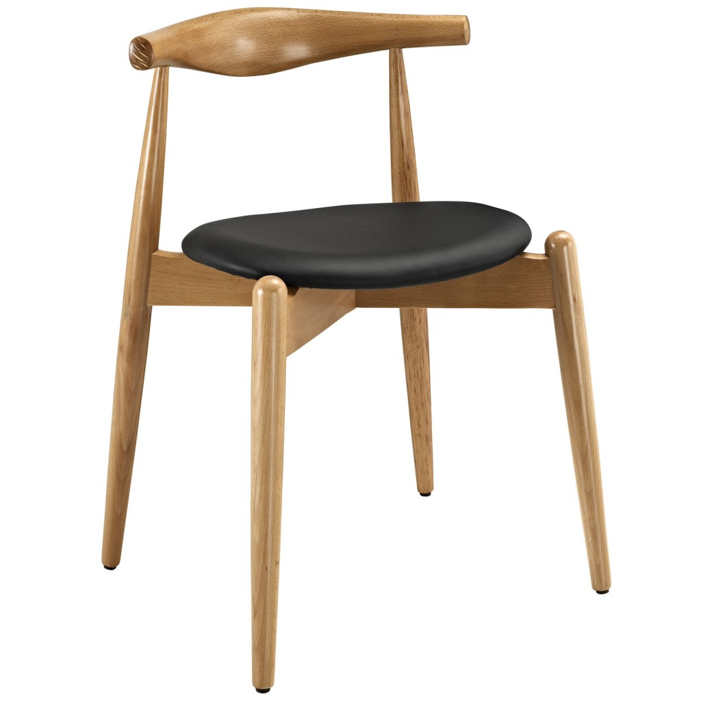 Marfa Chair Natural Wood Black 3