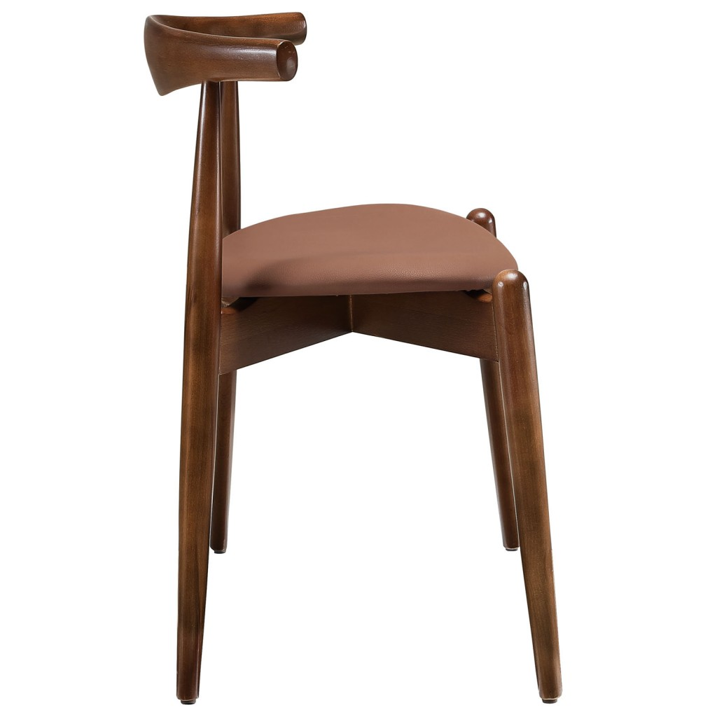 Marfa Chair Walnut Tan 2