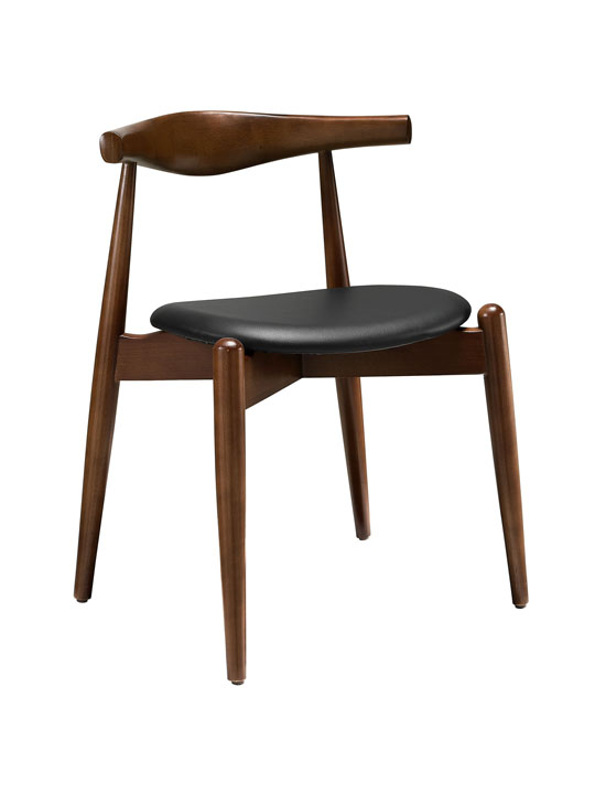 Marfa Wood Chair Black Seating