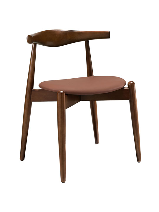 Marfa Wood Chair Tan Seating