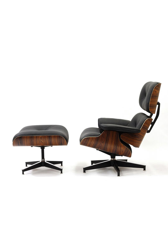 Mid Century Lounge Chair Set 1