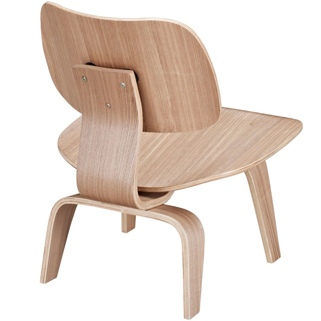 Natural Wood Bamboo Lounge Chair 3