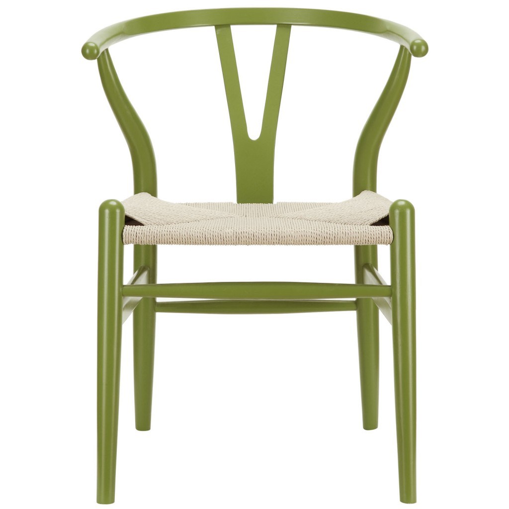 Olive Green Hemp Chair 3