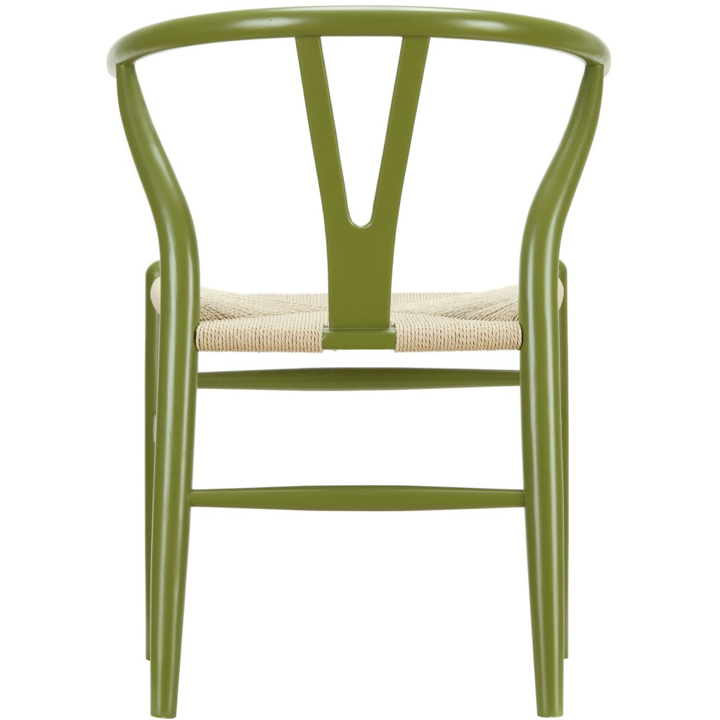 Olive Green Hemp Chair