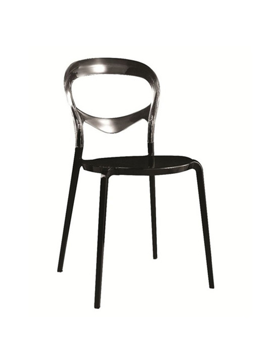 Opaque Chair black black