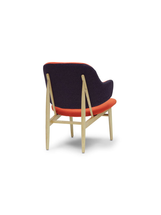 Orange Balman Chair 3