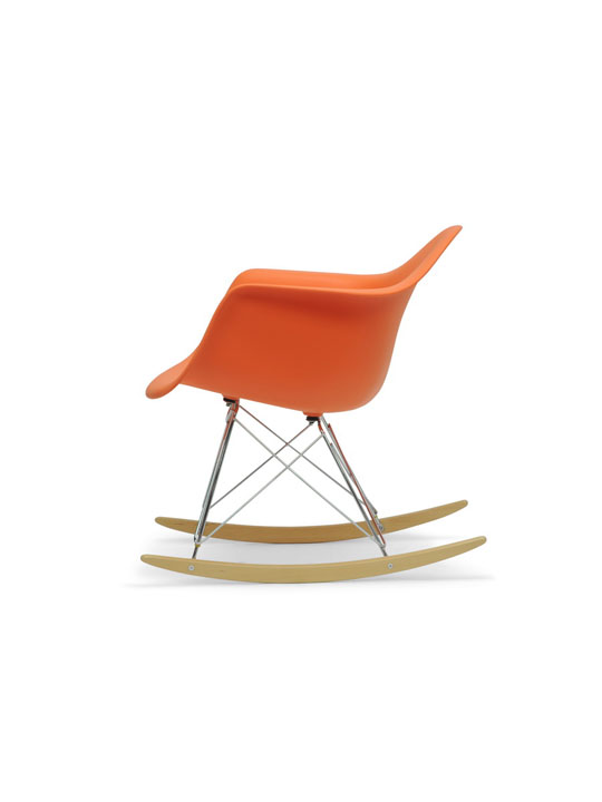 Orange Dock Rocker Rocking Chair 3